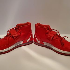 Nike Air Force Max Basketball Shoes Red Men's sz13